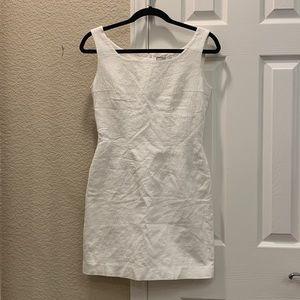 VTG Steady Spirit White Patterned Dress